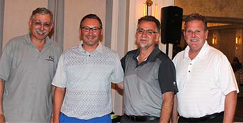 1st Place Winners:  Bob Salmon, Simon Burgess, Michael Shilale and Dana Malley